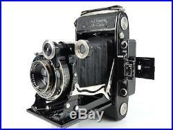 Zeiss Super Ikonta A 530/2 120 Film 6x9 Folding Rangefinder Camera Tessar Lens