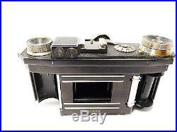 Zeiss Super Nettel Camera 536/24 Rangefinder Rf Czj Tessar 2.8 3664