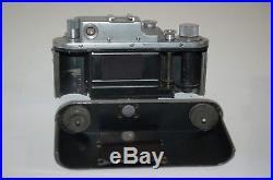 Zorki-3, RARE Vintage 1954 Soviet Rangefinder Camera & Case. 5439312. UK Sale