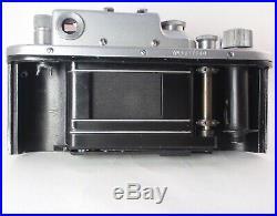 Zorki-3 Vintage 1954 USSR Rangefinder Camera & Jupiter-8 Lens Red P