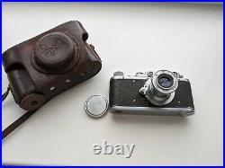 Zorki Vintage 1954 Soviet Rangefinder Camera with Industar 50